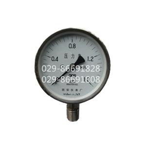 全不锈钢压力表YTF-60,YTF-100 ,YTF-150西安仪表厂