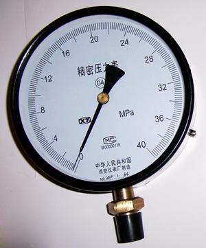 精密压力表YB-150 YB-160 YB-254 YBT-254