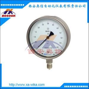 332.30不锈钢压力表 wika精密型压力表 333.30.160