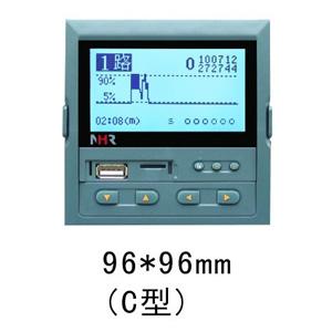 NHR-7400 液晶四路PID温控仪 虹润NHR-7400R记录仪